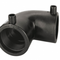 Отвод 90 гр 0225 мм ПЭ100 SDR11 эл.св.