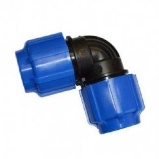 Отвод 0090 мм компрессионный