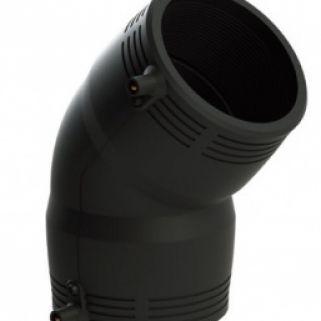 Отвод 45 гр 0160 мм ПЭ100 SDR11 эл. св