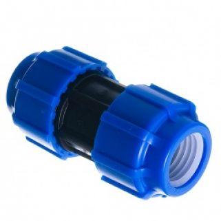 Муфта 0025 мм соединительная компрессионная