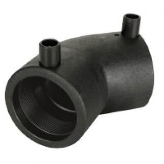 Отвод 45 гр 0090 мм ПЭ100 SDR11 эл. св