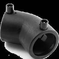 Отвод 45 гр 0075 мм ПЭ100 SDR11 эл. св