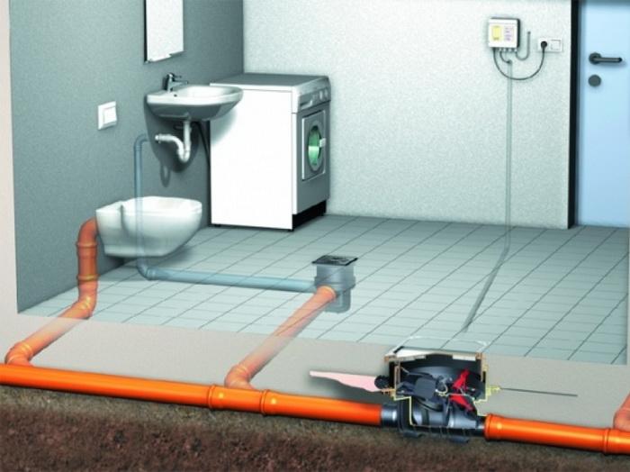 Монтаж труб для канализации